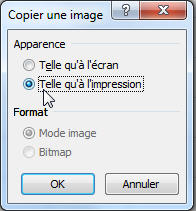 Suite procédure CopierColler Excel PP