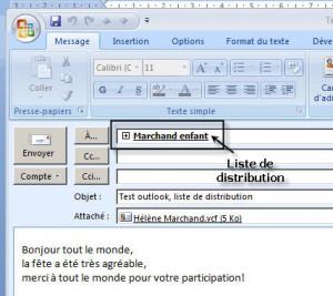 courriel_liste distribution