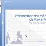 PowerPoint exemple de nouveau thème