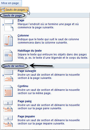 how to delete section break in word mac 2016