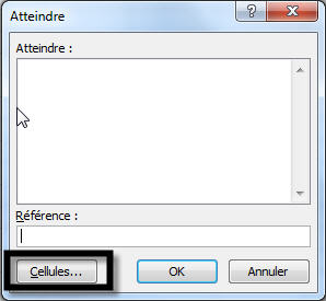 Excel- touche F5