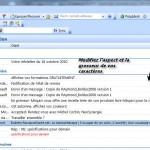 Image principale dans Outlook